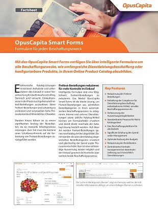 Smart Forms Factsheet